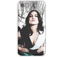 Lana Parrilla- angel icon  iPhone Case/Skin