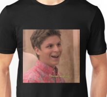 michael cera forced laughing  Unisex T-Shirt
