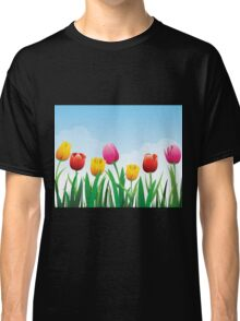 Tulip flowers Classic T-Shirt