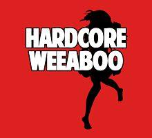 Hardcore Weeaboo (black silhouette) Unisex T-Shirt