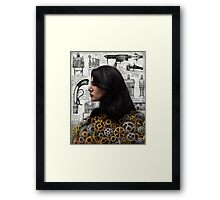 The Past is the Beginning of a Beginning Framed Print