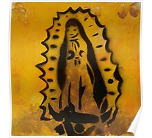 Our Lady of Guadalupe print  Poster
