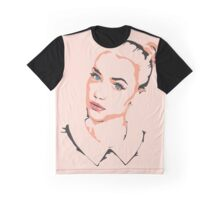 Blue-eyed Beauty Graphic T-Shirt