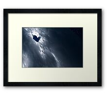 Somewhere On Our Planet... Framed Print