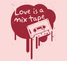 Love Is A Mix Tape... One Piece - Long Sleeve