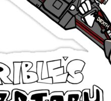 Horrible's Laboratory Sticker