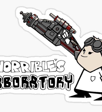 Horrible's Laboratory Sticker