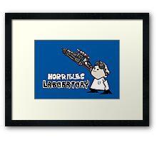 Horrible's Laboratory Framed Print