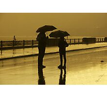 .. in a rainy late summer afternoon .. close to the sea shore (3) Photographic Print