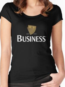 Lovely day for business Women's Fitted Scoop T-Shirt