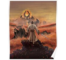 Warrior above the Sea of Fire Poster