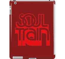 SOUL TRAIN (RED) iPad Case/Skin