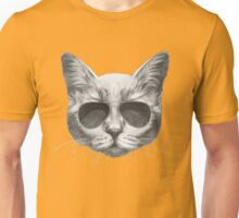 Cat with sunglasses Unisex T-Shirt