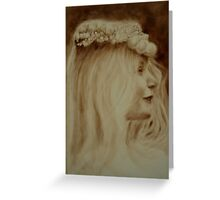 The Pearl Headdress  Greeting Card