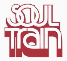 SOUL TRAIN (RED) Kids Tee