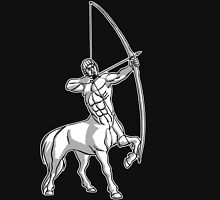 White Centaur Aiming High T-Shirt by Cheerful Madness!! Unisex T-Shirt