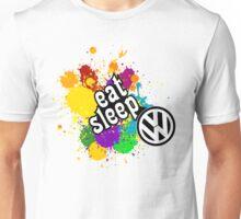 eat sleep volkswagen Unisex T-Shirt