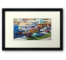 Tiny  Town Framed Print