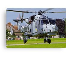 Wildcat Helicopter Canvas Print