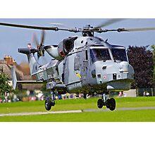 Wildcat Helicopter Photographic Print