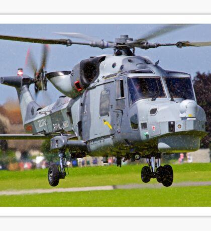 Wildcat Helicopter Sticker