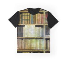 Antique Books Graphic T-Shirt