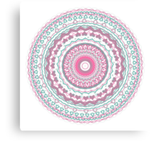 Heartfelt Mandala  Canvas Print