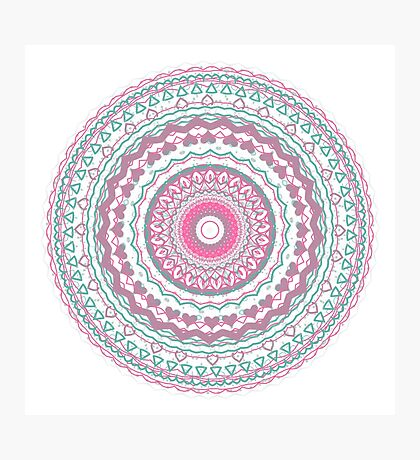 Heartfelt Mandala  Photographic Print