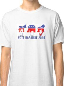 Vote Harambe 2016 Classic T-Shirt