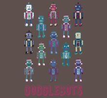GoggleBots - robot pattern One Piece - Short Sleeve
