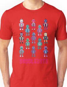 GoggleBots - robot pattern Unisex T-Shirt