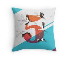 5Birds Throw Pillow