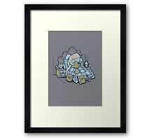 Late Night Readings Framed Print