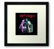 Daft Plague Framed Print