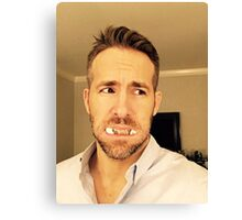 ryan reynolds Canvas Print