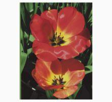 Ladies in Scarlet - Tulip Twins One Piece - Short Sleeve