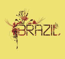 Flowering Brazil One Piece - Short Sleeve