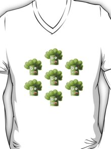 Funny Cartoon Broccoli T-Shirt