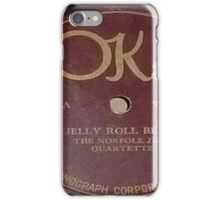 Jelly Roll Blues 78 rpm label iPhone Case/Skin