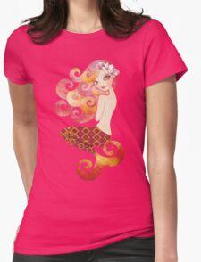 Coraleen, Mermaid in Pink T-Shirt