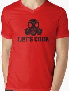 Lets Cook Breaking Bad Mens V-Neck T-Shirt