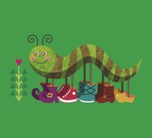 Caty Caterpillar Kids Tee