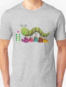 Catty Caterpillar Unisex T-Shirt