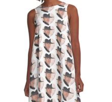 Heart of a Gunslinger A-Line Dress