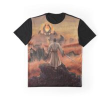 Warrior above the Sea of Fire Graphic T-Shirt