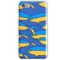 Funky Fish in the Sea iPhone Case/Skin