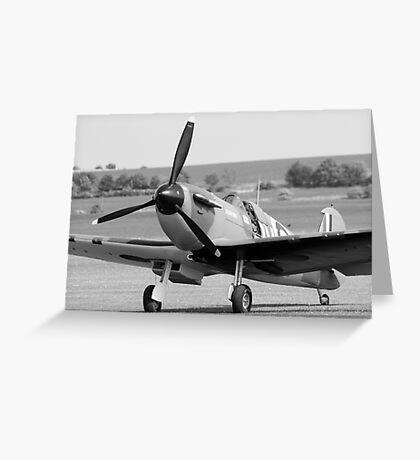 Mk1 Spitfire  Greeting Card