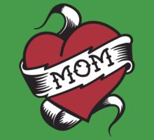 Mom Tattoo Baby Tee