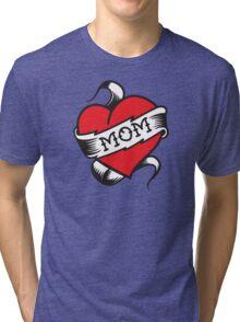 Mom Tattoo Tri-blend T-Shirt