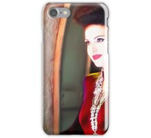 Once upon a time evil queen recolour  iPhone Case/Skin